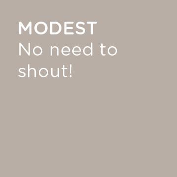 V-modest